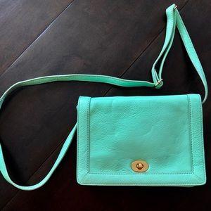 J. Crew Tillary Leather Crossbody Bag